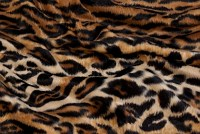 Jaguar pels i brun-sort med naturligt mønster