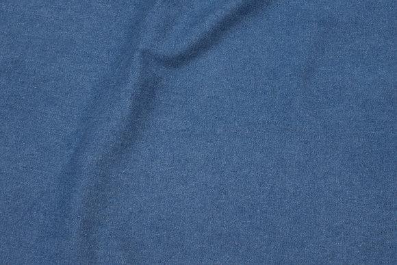 Lys blå stræk-denim