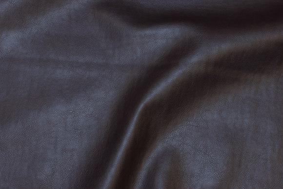 Mørk brun naturtro, imiteret læder