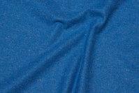 Vævet uldstof husarblå