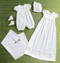 Børnekjole, skærf, hue, støvler og tæppe. Butterick 6045.