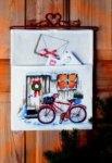 Permin 22-5215. Postlomme - Cykel.