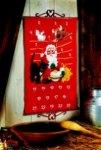 Permin 34-2202. Pakkekalender - Julemanden i stalden.