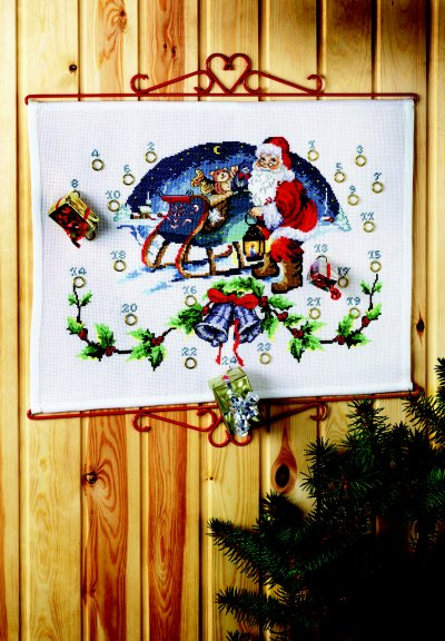 Pakkekalender - Julemand i kane
