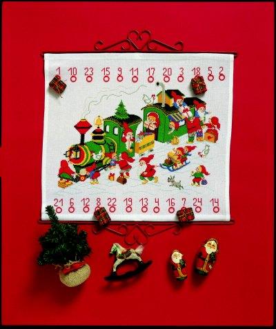 Pakkekalender - Juletoget