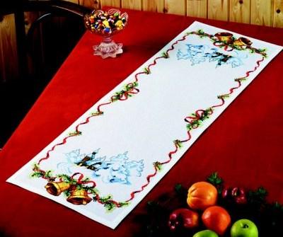 Bordløber - Juleklokker og kirke