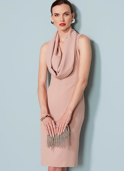 Cowl-Neck, Open-Back Dress, Lialia by Julia Alarcon