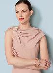 Cowl-Neck, Open-Back Dress, Lialia by Julia Alarcon