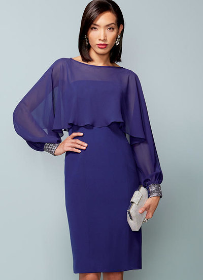 Slip Dress and Embellished-Cuff Cover-Up, Bellville Sassoon