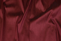 Aubergine, imiteret thaisilke i polyester