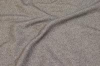 Kraftig jersey i grå sildeben med uld-look