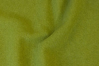 Limegrøn uldbouclé