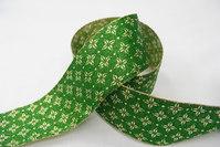 Lurexbånd grøn 4cm