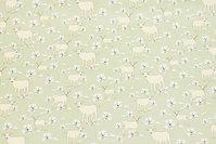 Lysegrøn, Gots økologisk, fast bomuld med får