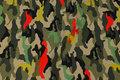 Camouflage bomuldsjersey i nye farver.