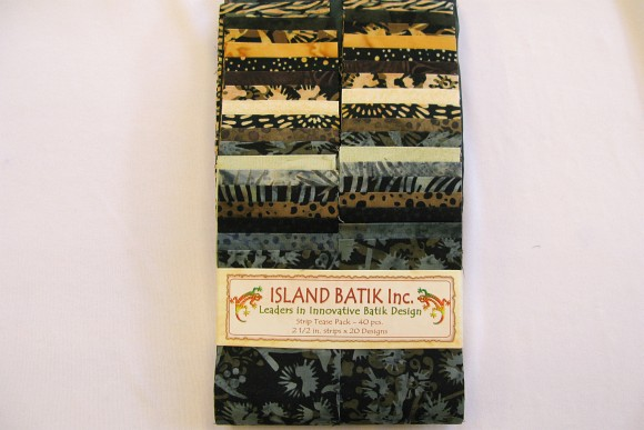 Batik patcwork strimler peppercorn