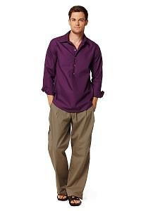 Skjorte, trøje. Burda 7525.