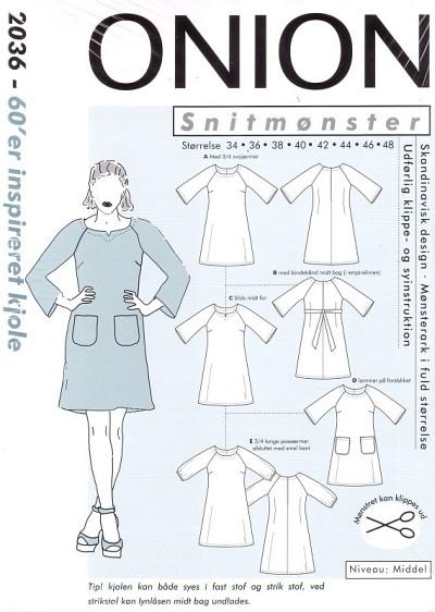 60er inspireret kjole