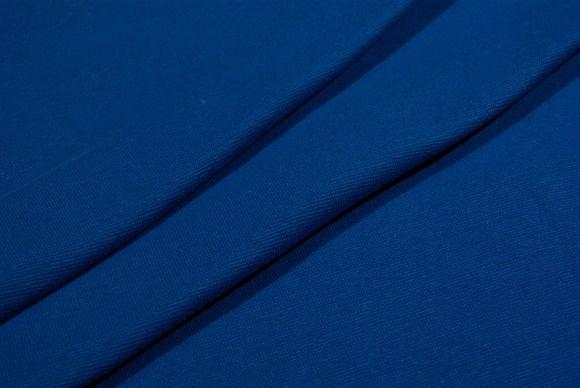 Coboltblå ribstof i klassisk god kvalitet