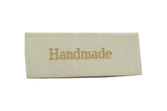 Handmade mærke 5 x 2 cm