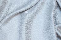 Jacquardvævet 100% silke i lys sand