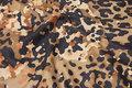Let, imiteret ruskind med camouflage tryk