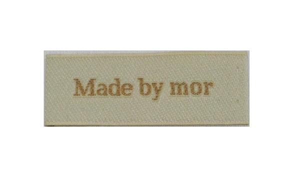 Made by Mor mærke 5 x 2 cm