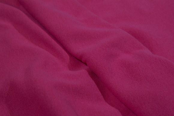 Pink ribstof i klassisk god kvalitet
