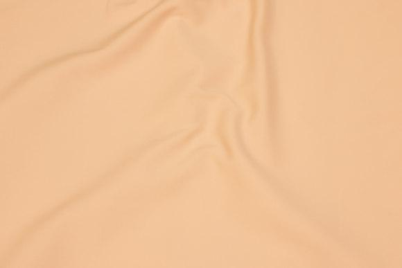Pudderfarvet, glat stretchstof