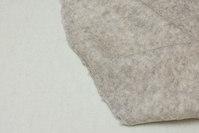 Råhvid og meleret sand, flot double-face uld til slag m.m.