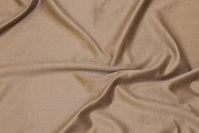 Sandfarvet stretch-ruskind