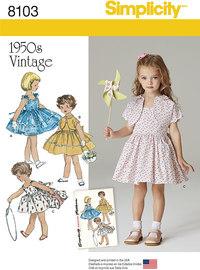 Kjole og foeret jakke, vintage 1950 stil