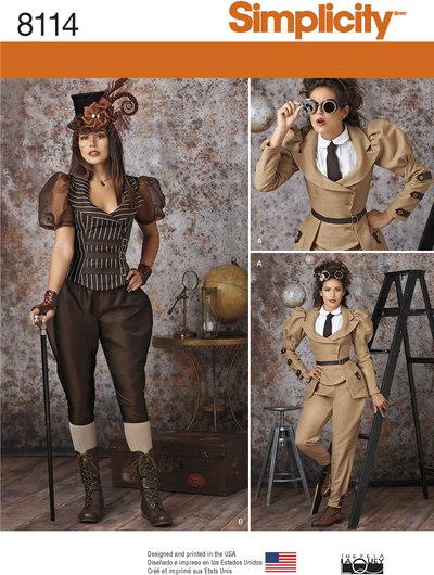 Steampunk, udforsker, retro udklædning
