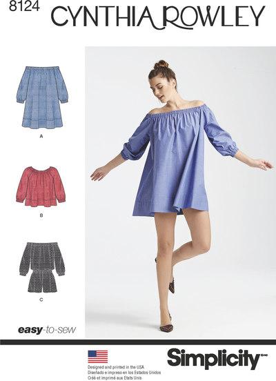 Buksedragt-kjole og top - Cynthia Rowley