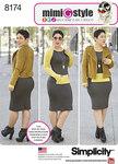 Foeret jakke, kjole i stræk, Mimi G