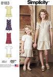 Kjole og nederdel til børn