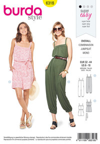 Jumpsuit. Burda 6318.
