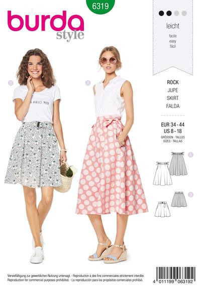 Klokkeformet nederdel