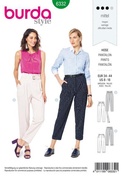 Højtaljede bukser