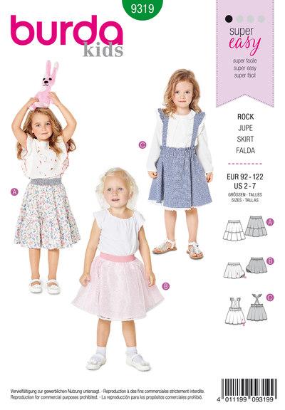 Pinafore nederdel til piger