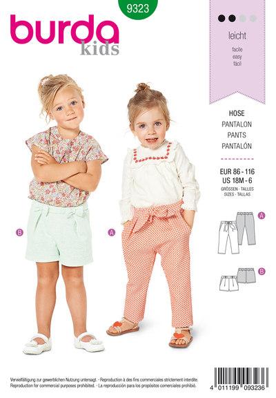 Bukser med elastiktalje til børn