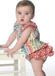 Toppe, kjoler, bukser til babyer og småbørn