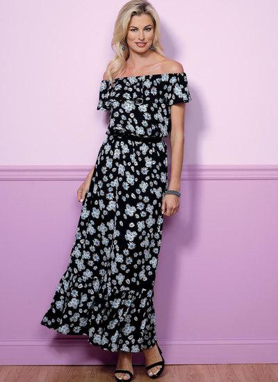 Blouson kjole
