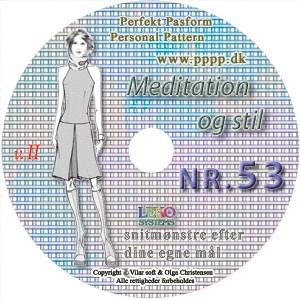 CD-rom nr. 53 - Meditation og Stil