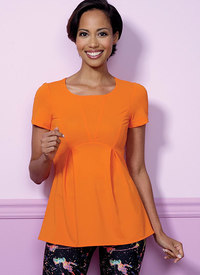 Butterick 6458. Pullover, paneltoppe.