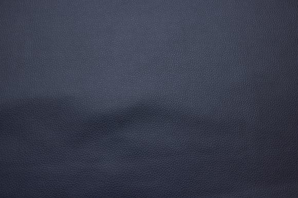Marineblå imiteret læder