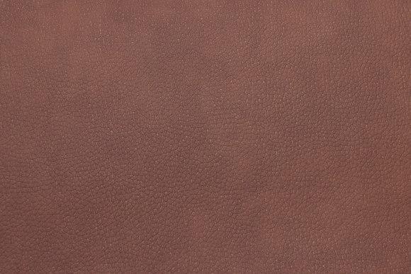 Mellembrun meleret imiteret læder