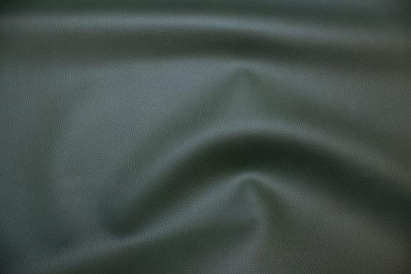 Mørk grøn imiteret læder