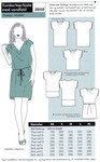 Onion 2050. Tunika, top eller kjole med vandfald.