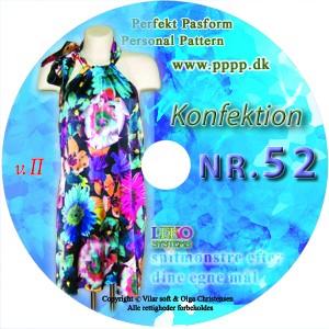 CD-rom nr. 52 - Konfektion